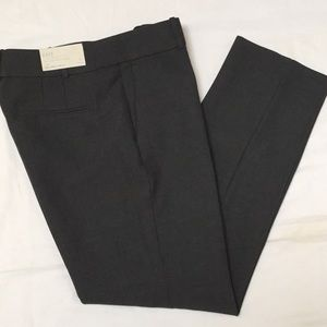 Ann Taylor Charcoal Gray Stretch Tailored Ankle-6T
